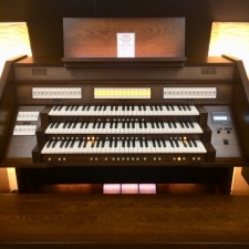 Content Celeste 340R Custom UK Spec Organ in Antique Mahogany (CBM191)