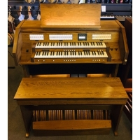 Content Clavis 224R Custom UK Specification Organ in Dark Oak (CBM161) Finish