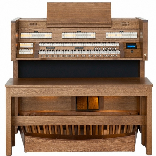 Content Cantate 246R Organ, 30 Note Radiating Concave Pedalboard & Bench