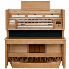 Content Cantate 346R Organ With Radiating Concave Pedalboard & Bench