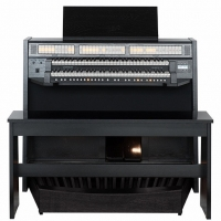 Content Celeste 236 Organ, 30 Note Radiating Concave Pedalboard & Bench