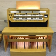 Content Celeste 236 Standard UK Specification Organ In Light Oak (30RC)