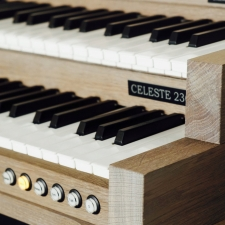 Content Celeste 236R Organ, 30 Note Radiating Concave Pedalboard & Bench