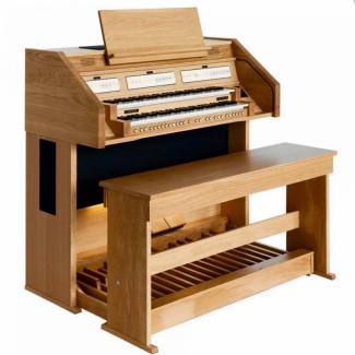 Content Celeste 236R Organ, 32 Note Radiating Concave Pedalboard & Bench