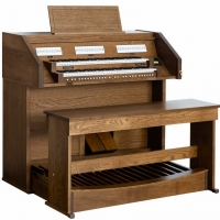 Content Chapel 227R Organ, 30 Note Radiating Concave Pedalboard & Bench