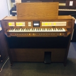 Content Clavis 125 UK Spec Single Manual Organ & Stool in Dark Oak (CBM161)