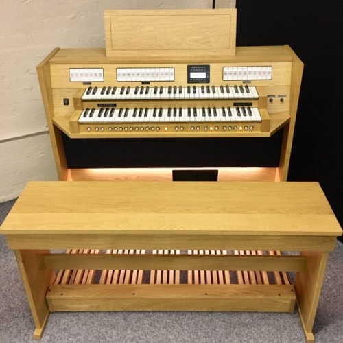 Content Clavis 224 European Spec Organ (30 Note Straight Pedalboard)