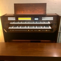 Content Clavis 224 UK Specification Organ in Custom Old Dutch Finish