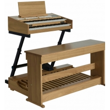 Content Compact 224 Extern Portable Organ, Pedalboard, Bench, Stand & Vol Pedal