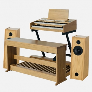 Content Compact 224 Extern Organ, Pedalboard, Bench, Stand, Vol Pedal & Speakers