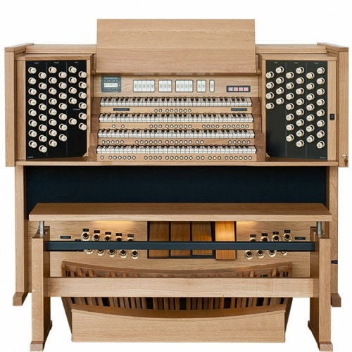 Content Concerto 476 Organ, 32 Note Radiating Concave Pedalboard & Bench
