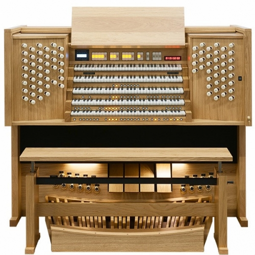 Content Concerto 576 Organ, 32 Note Radiating Concave Pedalboard & Bench