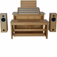 Content Cambiare 323 Hauptwerk Organ With External Speakers (32GB)