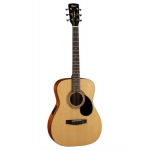 Cort AF510E-OP Electro Acoustic Guitar in Open Pore Natural