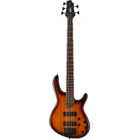 Cort B5 5 String Bass Guitar, Tobacco Sunburst, Secondhand