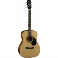 The Cort AF510 OP Acoustic Folk Guitar, Natural