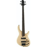 Cort B4 FL Plus AS OPN Fretless Bass in Opem Pore Natural