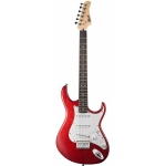 Cort G100 Electric Guitar, Open Pore Black Cherry