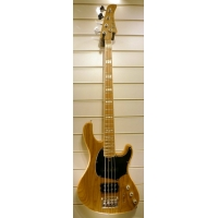 Cort GB74 4 String Bass, Open Pore Natural