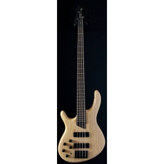 Cort B4 Plus AS OPN Artisan 4 Strings Bass in Open Pore Natural, Lefthanded