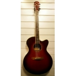 Yamaha CPX500 Electro Acoustic Guitar in Red, Pre-Owned