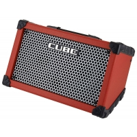 Roland Cube Street 2.5+2.5W Acoustic Amp, Red, Second Hand