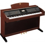 Yamaha CVP305 Clavinova Digital Piano in Mahogany, Secondhand