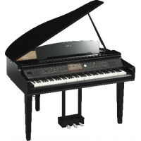 Yamaha CVP709GP Clavinova Digital Grand Piano, Polished Ebony