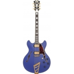 D'Angelico Deluxe DC, Matte Royal Blue