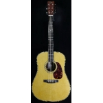 Atkin D37 Handmade (UK) Dreadnought Electro Acoustic in Natural & Case