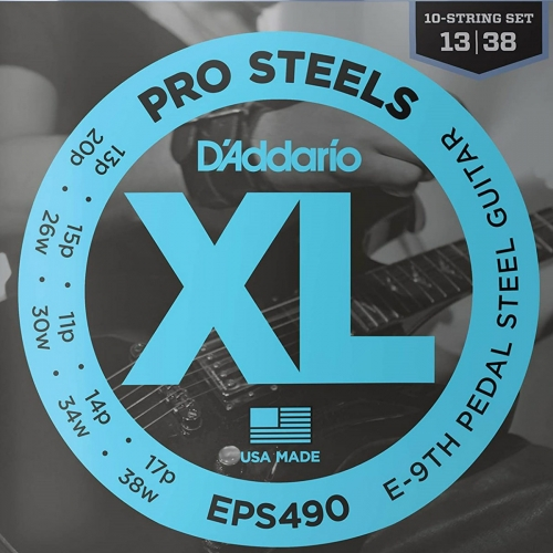 D'Addario EPS490 Pro Pedal Steel Guitar Strings