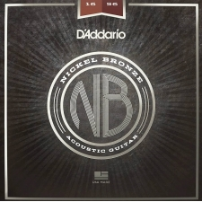 D'Addario NB1656 Resophonic Guitar Strings (.16-.56, Nickel Bronze)