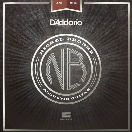 Daddario NB1656 Resophonic Guitar Strings (.16-.56, Nickel Bronze)