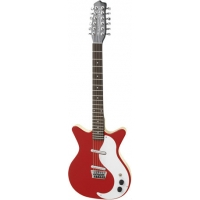 Danelectro DC59 12 String Electric Guitar in Red