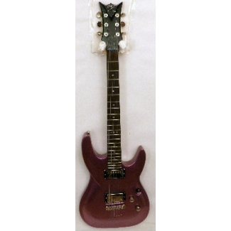 DBZ Barchetta ST Electric Guitar in Aubergine