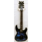 DBZ Bare Bones Religion Series Dark Angel Electric Guitar