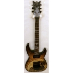 DBZ Bare Bones Religion Series Preacher Electric Guitar