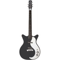 Danelectro DC59M BTB Electric Guitar, Black
