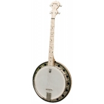 American Deering Goodtime Special 19 Fret Tenor Banjo w/Tone Ring & Resonator + Hard Case