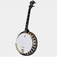 American Deering Boston 17 Fret Tenor Banjo With Hard Case