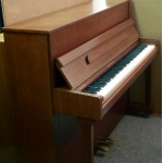 Charles Howes Derwent Upright Piano in Walnut Satin