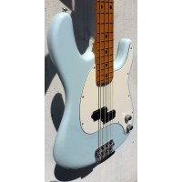 Musicman Cutlass 4-String Bass Guitar in Diamond Blue