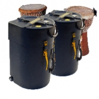 "Hardcase 18"" Djembe Case w/ Wheels & Pull Handle HNDJ18"
