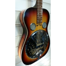 Circa 1961 Dobro Vintage Resonator Guitar in Sunburst With Case