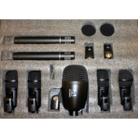Arena DRUM7 7 Piece Drum Microphone Set With Hard Case