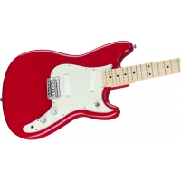 Fender Duo Sonic SS Electric Guitar, Torino Red £100 Off!