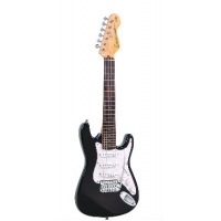 Encore E375BLK 3/4 Size Electric Guitar in Gloss Black, Secondhand