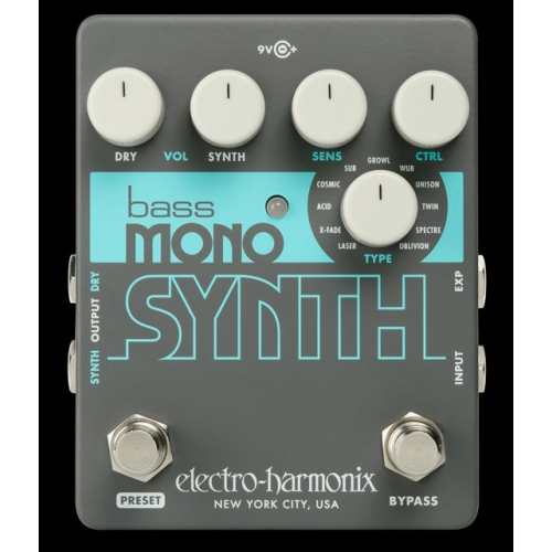 Electro-Harmonix Bass Mono Synth Bass Synthesizer