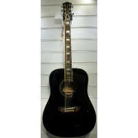 Eko Ranger VI Vintage Series 6 String Acoustic Guitar In Black