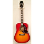 Epiphone Hummingbird, Acoustic Cherry, Secondhand with Case